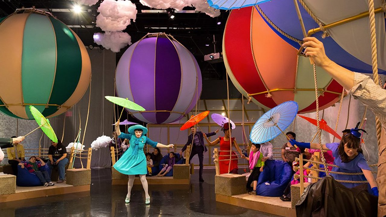 """Up And Away"" at Lincoln Center"