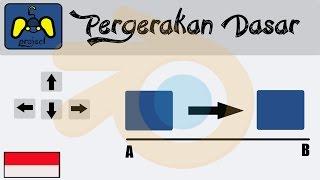 [TUTORIAL Blender game engine] cara membuat objek bergerak  (No Script/indonesia)