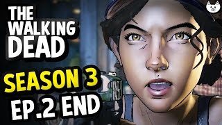 The Walking Dead Game Season 3 - CLEM'S SECRET - The Walking Dead New Frontier Gameplay  Ep2 ENDING)