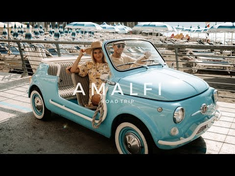 AMALFI COAST ROAD TRIP IN A VINTAGE CAR! - Hertz Selezione Italia