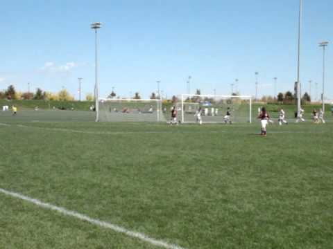 Rapids U14 Volley Goal