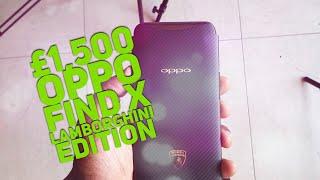 Oppo Find X Lamborghini Edition Sliding Camera
