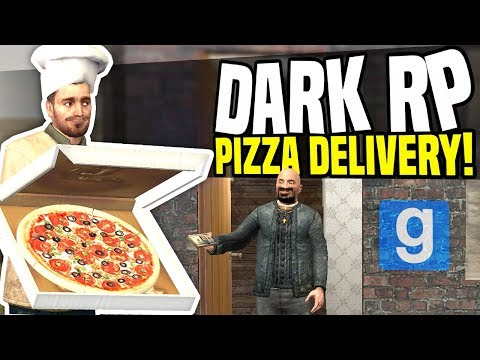 PIZZA DELIVERY - Gmod DarkRP | Huge Tip!
