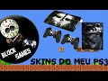 Skins meu PS3 - Call off Duty Ghost