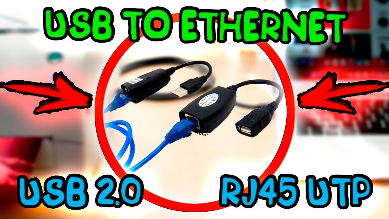 Сетевая карта Адаптер переходник с USB 2.0 на LAN RJ45 10/100Мб/c .