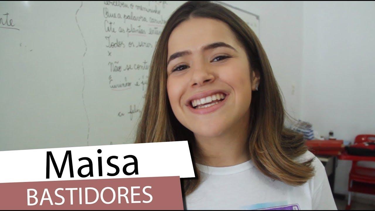 Maisa, do SBT,  mostra os bastidores de seu novo filme - Ela Disse, Ele Disse (2019)