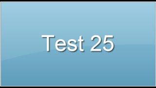test 25. Test d'intelligence verbale. Prépa concours infirmier tests aptitude psychotechniques