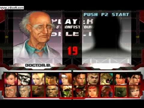 Tekken 3 Unlock All Characters Download Youtube
