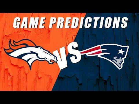 Denver Broncos vs New England Patriots Predictions