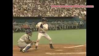 Jeff Bagwell Slow Motion Home Run Baseball Swing - Hitting Mechanics Houston Astros MLB