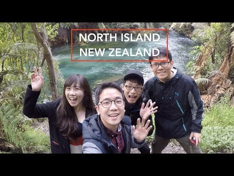 North Island - New Zealand Road Trip - Travel Adventure 2017 - (GoPro Hero 5)