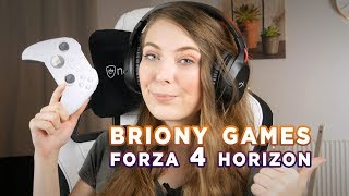 BRIONY PLAYS FORZA HORIZON 4 on PC! Livestream style