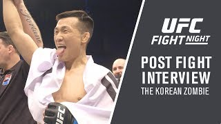 "UFC Busan: Korean Zombie - ""Whenever Volkanovski is Ready, I'm Ready"""