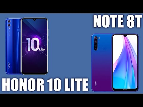 Xiaomi Redmi Note 8T Vs Honor 10 Lite. Сравнение!