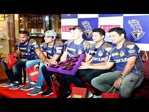 Leaked: Lynn, Kuldeep, Curran and Nitish Rana starred in a promotional event