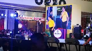 Boss Teteng Lopez and SM Elevator Girl Live at SM Seaside Cebu