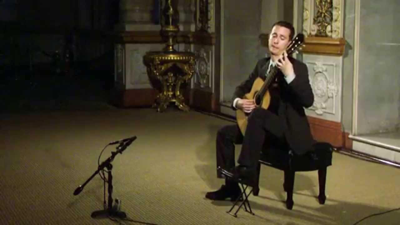 Manuel María Ponce: Sonata III | Carlos Alberto Castro, guitar