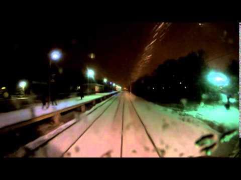 Поездка на Белорусское направление на электропоезде ЭД2Т до станции Голицыно