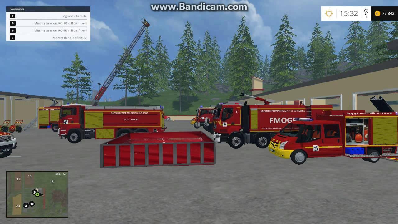 HS - Présentation Des Mods Pompiers