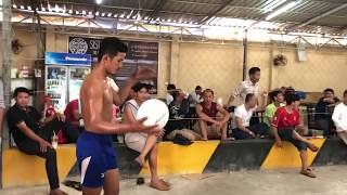 The Best Volleyball Of Cambodia ll Sovaneth Toch Do (3)VS(3) Reach Va Hong ll On September 16.2018