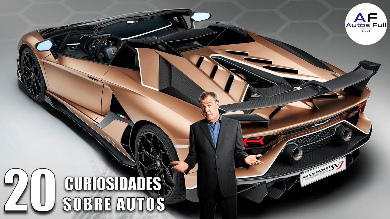 20 Curiosidades del Mundo de los Autos | 😱😱😱