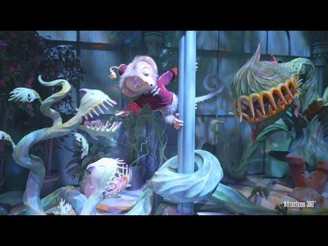 [4K] Mystic Manor - Trackless Ride - Best Disney Ride Ever - Hong Kong Disneyland 2016