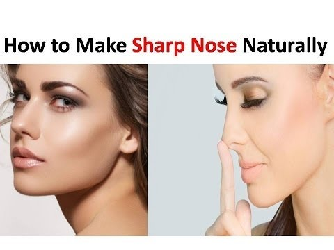 How To Make Your Nose Straight Naturally