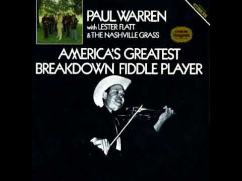 America's Greatest Breakdown Fiddle Player [1978] - Paul Warren with The Nashville Grass