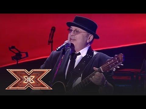 """Finală X Factor 2018. Mircea Baniciu cântă melodia """"Eșarfă în dar"""""""