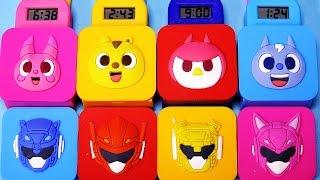 미니특공대 시계 타요 뽀로로 카봇 또봇 다이노포스 시계 장난감 Mini Force Tayo Pororo watch