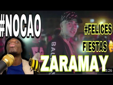 FELICES FIESTAS 🥳  (Video Reacción) ZARAMAY