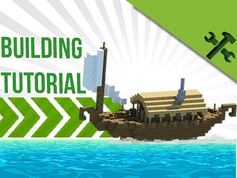 Minecraft: Simple Boat House Build Tutorial - YouTube