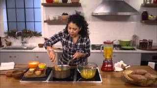 Sweet Potato & Coconut Soup Recipe From Evette Rios