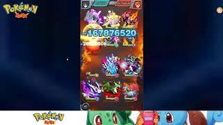 Pokemon Mega: 211M BP Rico has a Jirachi tank!!! T4 King Tourney fights!