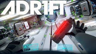 ADRIFT | THIS GAME IS BREATHTAKING!!! INCREDIBLE SPACE STORY [Adrift Part 3 | Adr1ft Gameplay PS4]