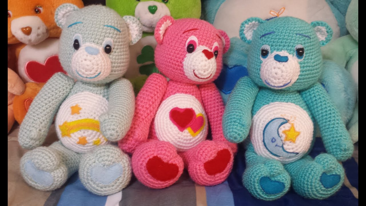 Amigurumi crochet care bear tutorial part 1 youtube bankloansurffo Choice Image
