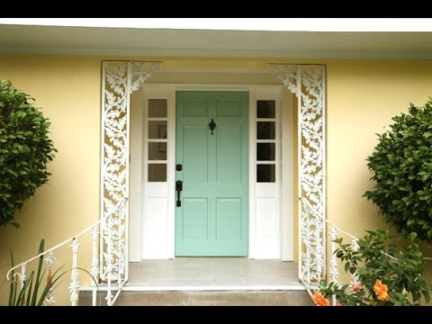 How To Paint A Front Door Youtube