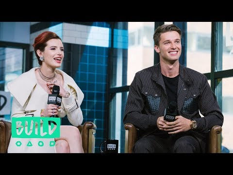 Bella Thorne & Patrick Schwarzenegger Stop By To Discuss