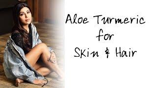 Aloe Turmeric Gel best for Skin & Hair Care | HINDI | Debina Decodes | Beauty Ep 31