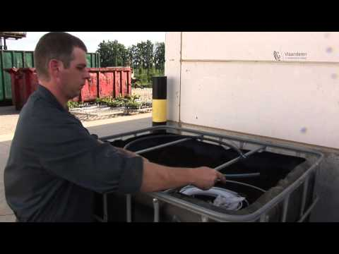 De bouw van een biofilter
