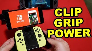Nyko Clip Grip Power - Nintendo Switch Joy Con Grip review