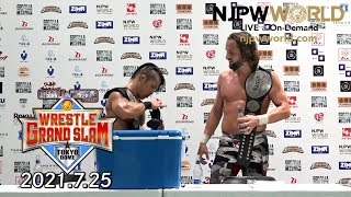 El Phantasmo and Taiji Ishimori Retain! | Wrestle Grand Slam
