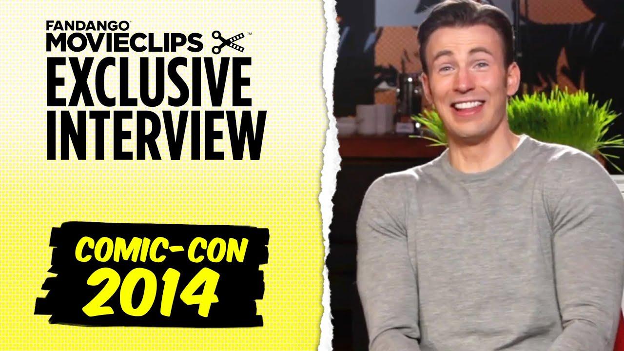 Chris Evans & Mark Ruffalo 'Avengers: Age of Ultron' Exclusive Interview: Comic-Con (2