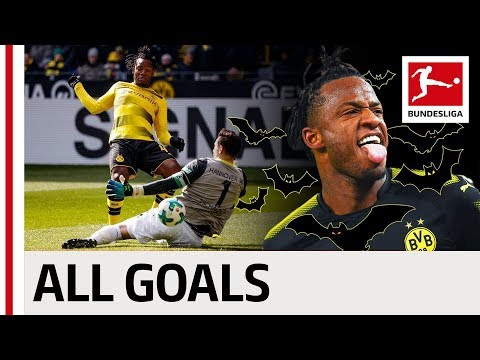 All Michy Batshuayi's Bundesliga Goals