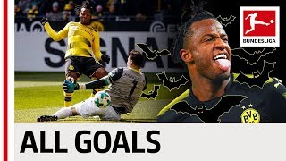 All Michy Batshuayi's Bundesliga Goals