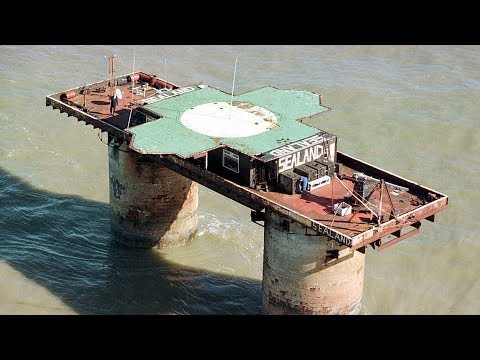 The World's Smallest Country! - The Principality of Sealand
