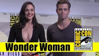 Wonder Woman | 2016 Comic Con Full Panel (Gal Gadot, Chris Pine)