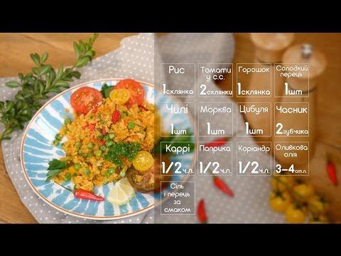 Рис з овочами рецепти з фото