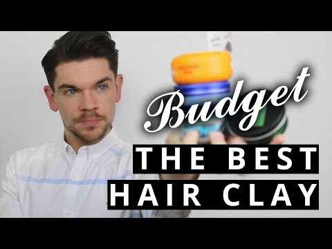 The Best Budget Hair Clay For Men