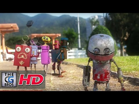 "CGI 3D Animated Short: ""Rubbish Robot"" - by Infinity Digital Creation Limited"